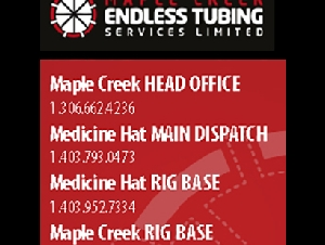 Maple creek endless tubing services