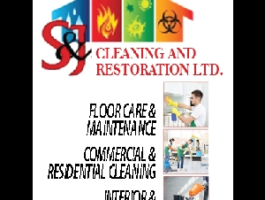 S & J Cleaning and Restoration